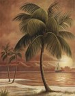 Island Palm I by Ron Jenkins art print