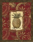 Exotica Pineapple - Mini by Charlene Audrey art print