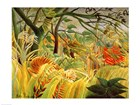 Tiger in a Tropical Storm by Henri Rousseau art print