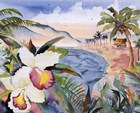 Hawaiian Orchids by Terry Madden art print